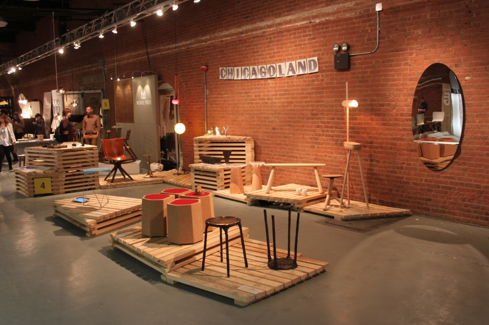 Chicagoland exhibition space at  Wanted Design 2014