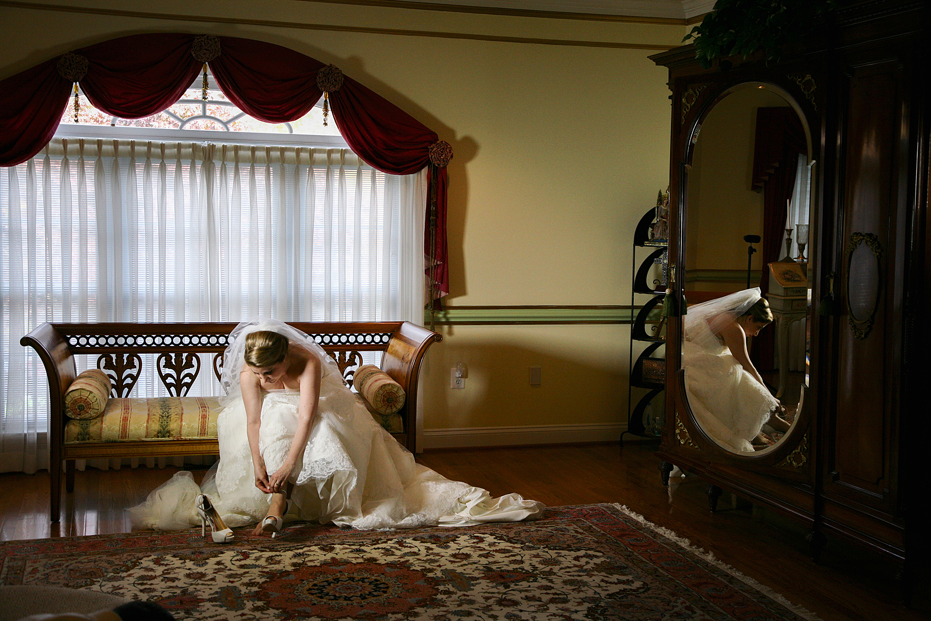 Bride in Chamber