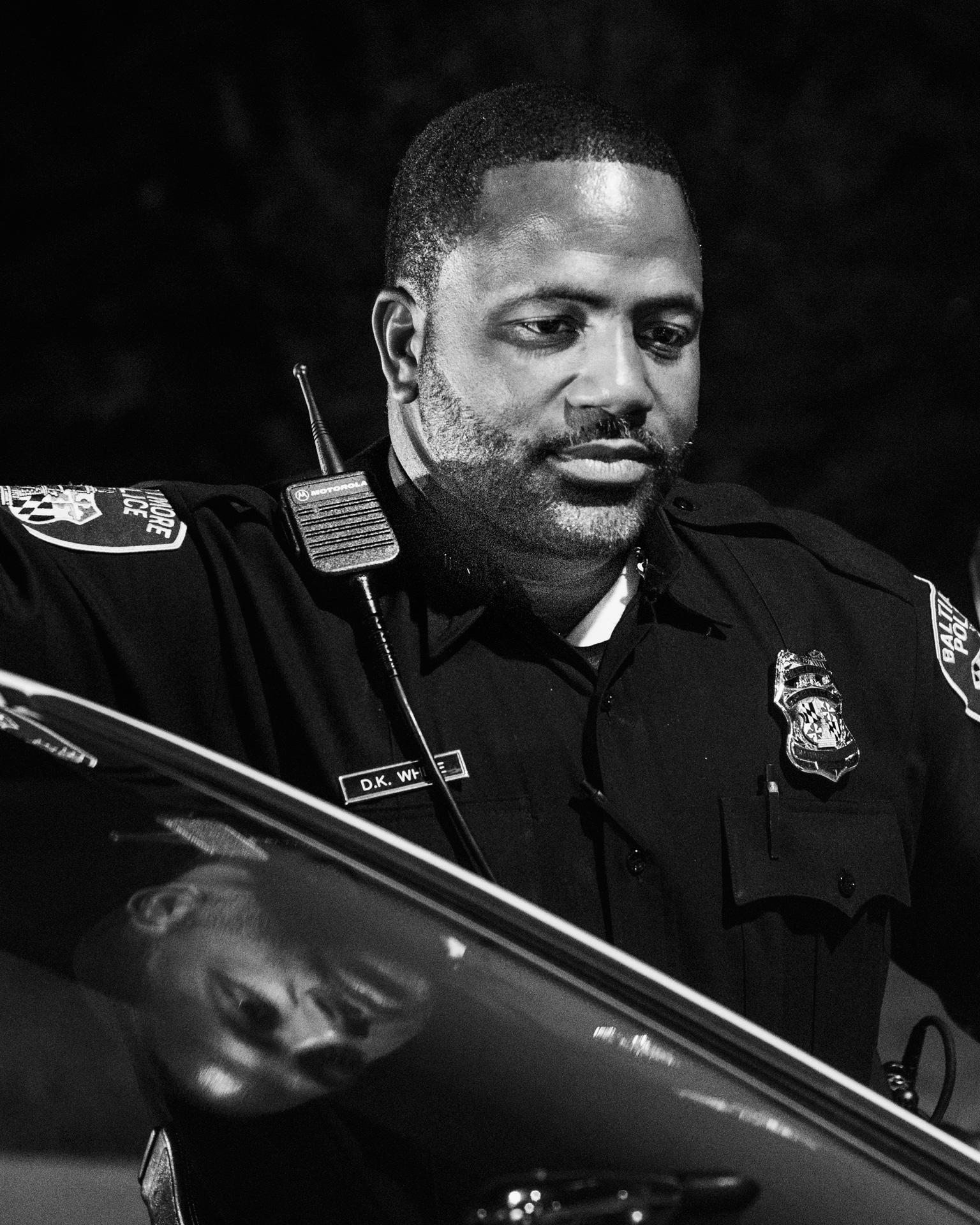 Officer D.K. White