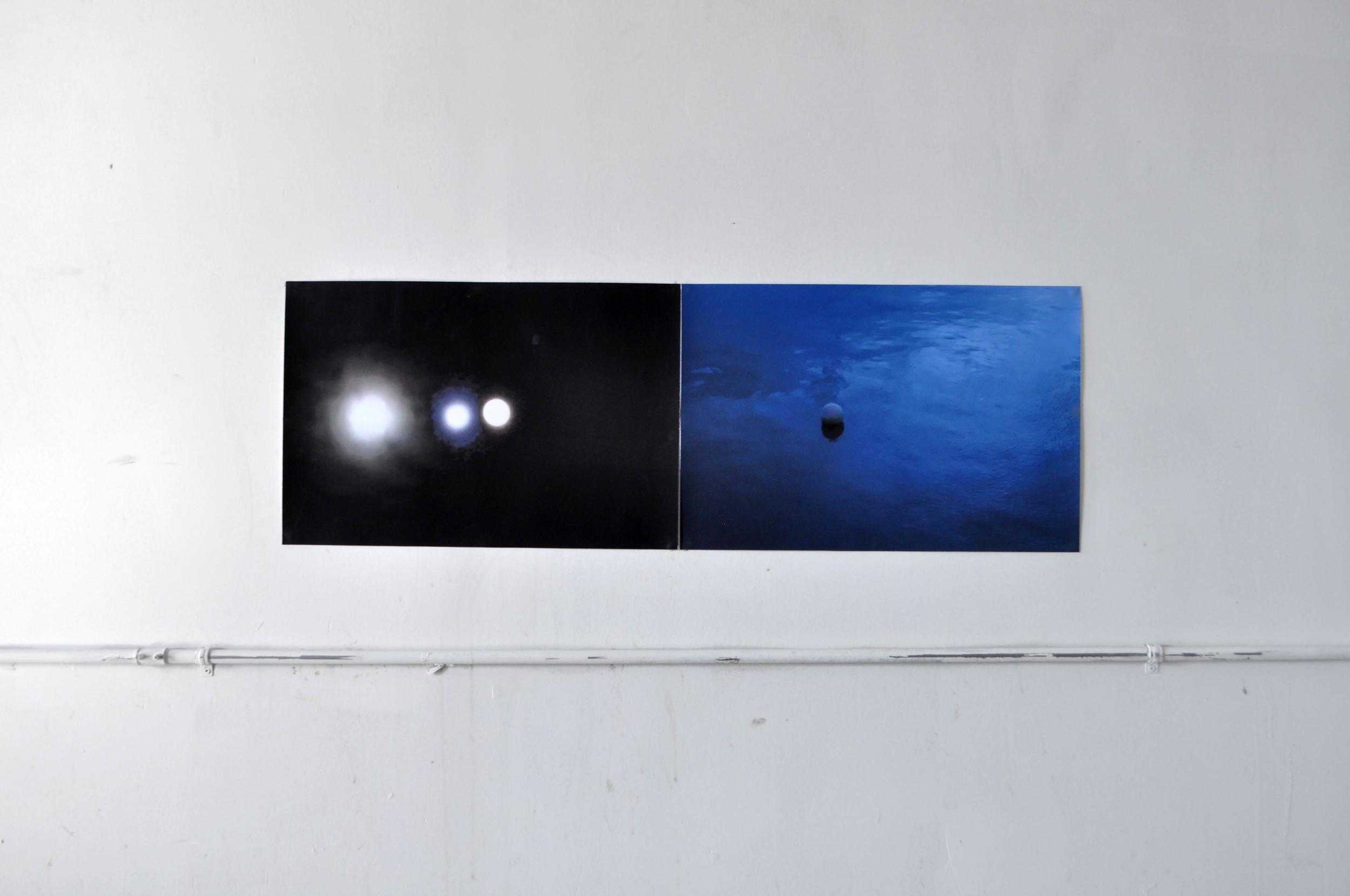 Monde (full) ;Honmura Blue, 2014 c-print dimensions variable