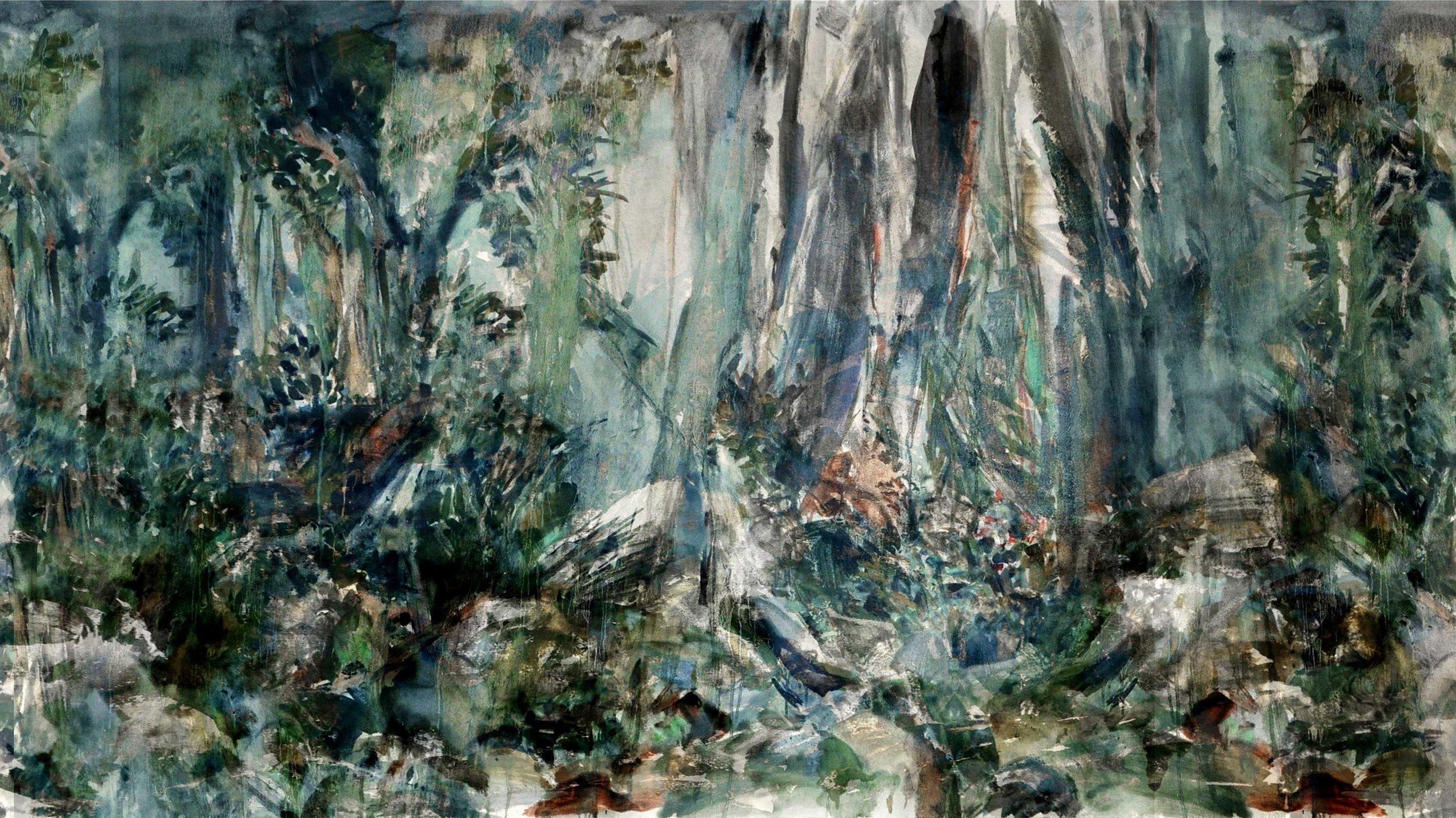 Marais 3, digital painting, dimensions variable, 2016