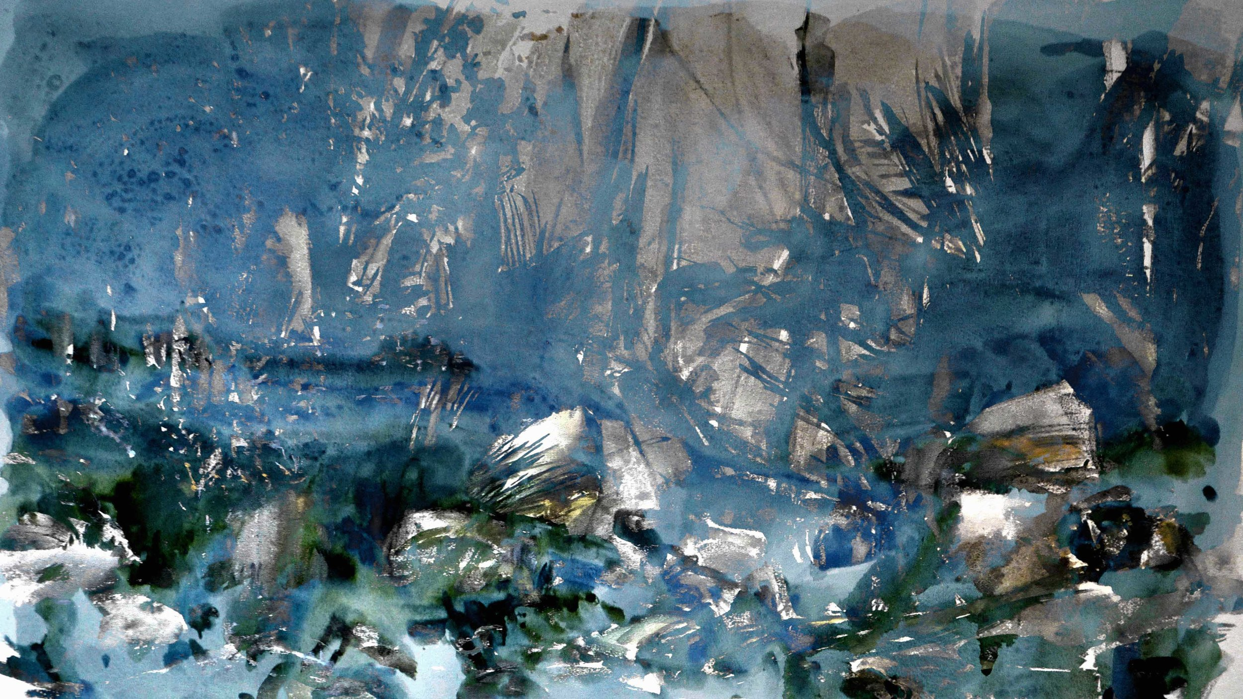 Marais 1, digital painting, dimensions variable, 2016