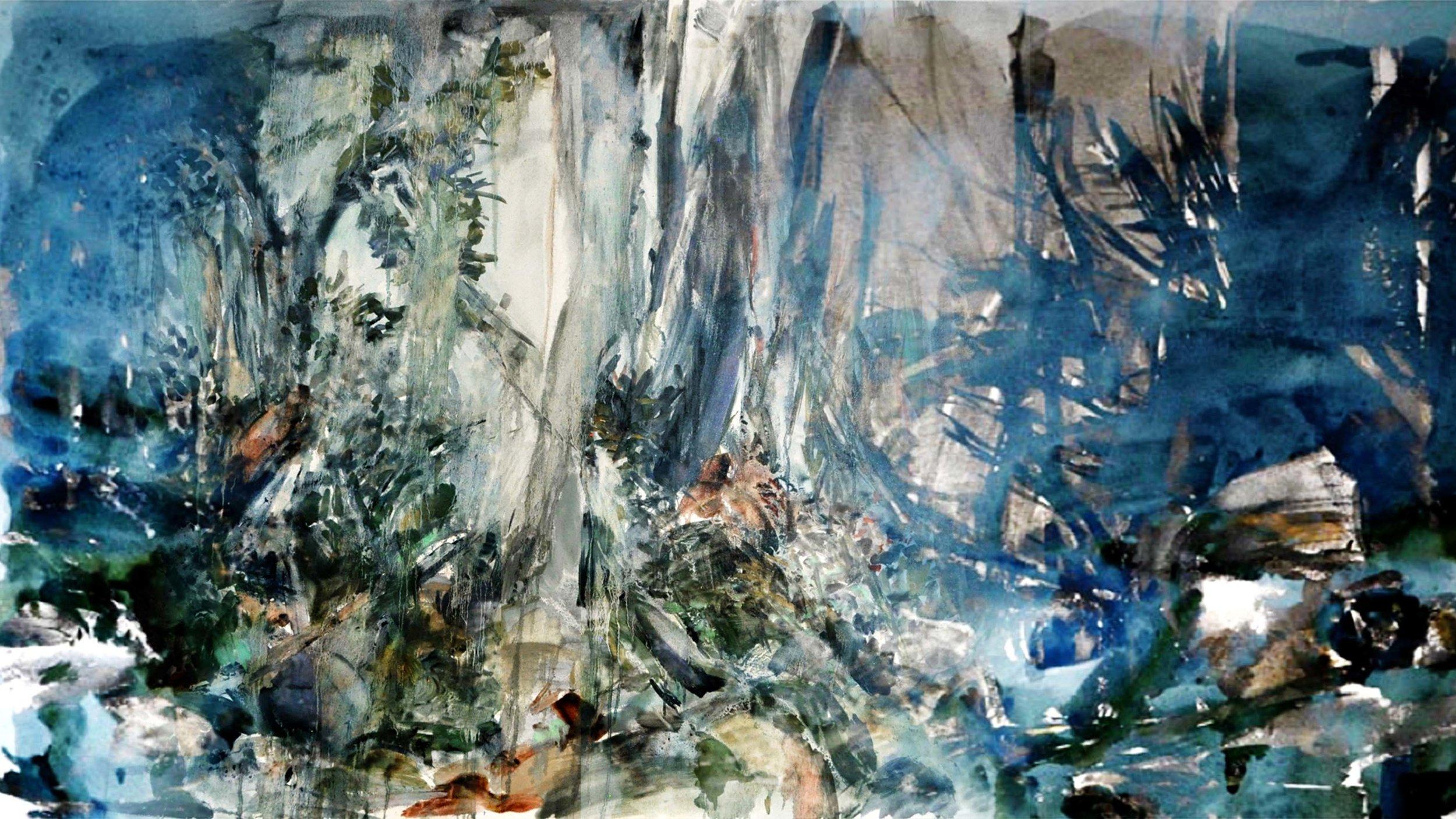 Marais 2, digital painting, dimensions variable, 2016