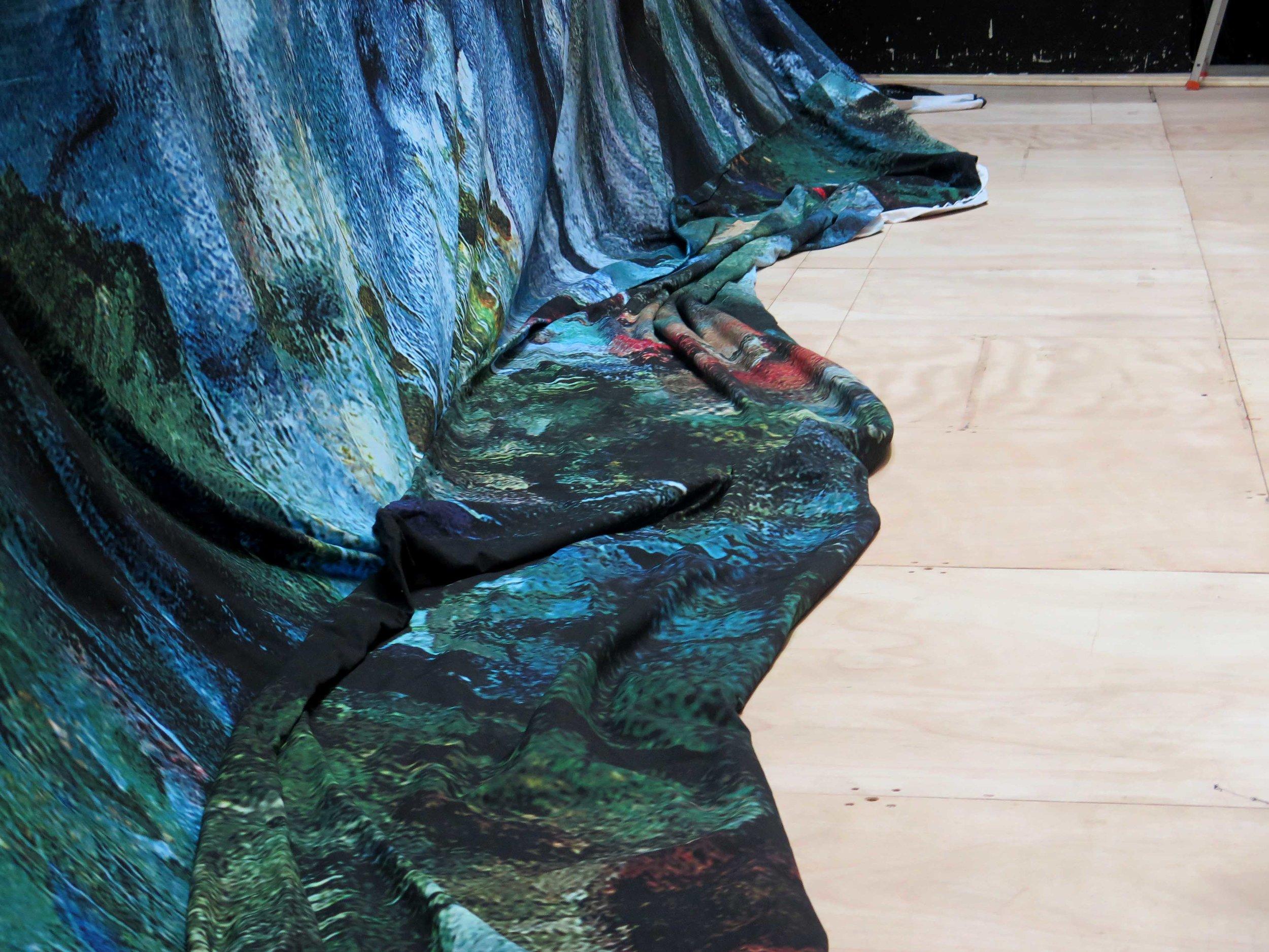 Marais backdrop , Théâtre du Capitole, Toulouse, 2017