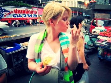 Durian Cart, Streets of Bangkok