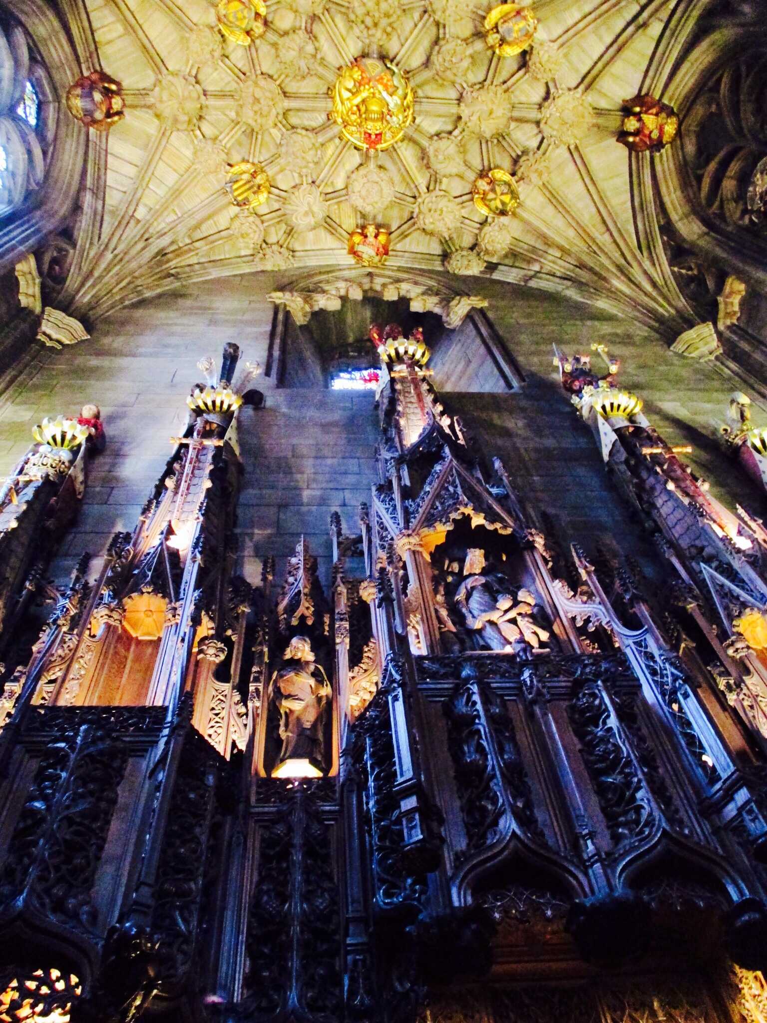 Thistle Chapel at St. Giles' Cathedral