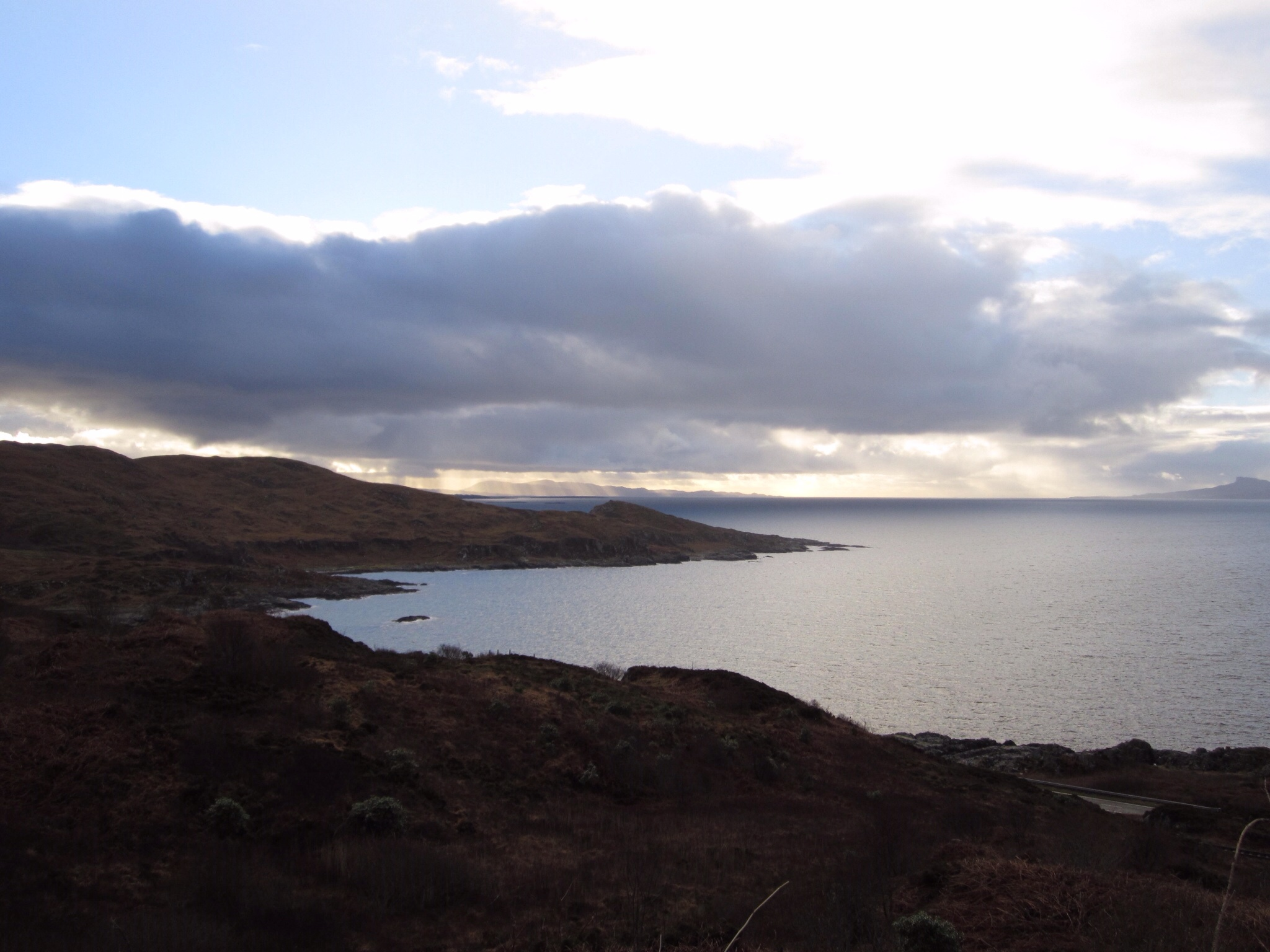 View from the road outside Ashdale Bed and Breakfast in Mallaig