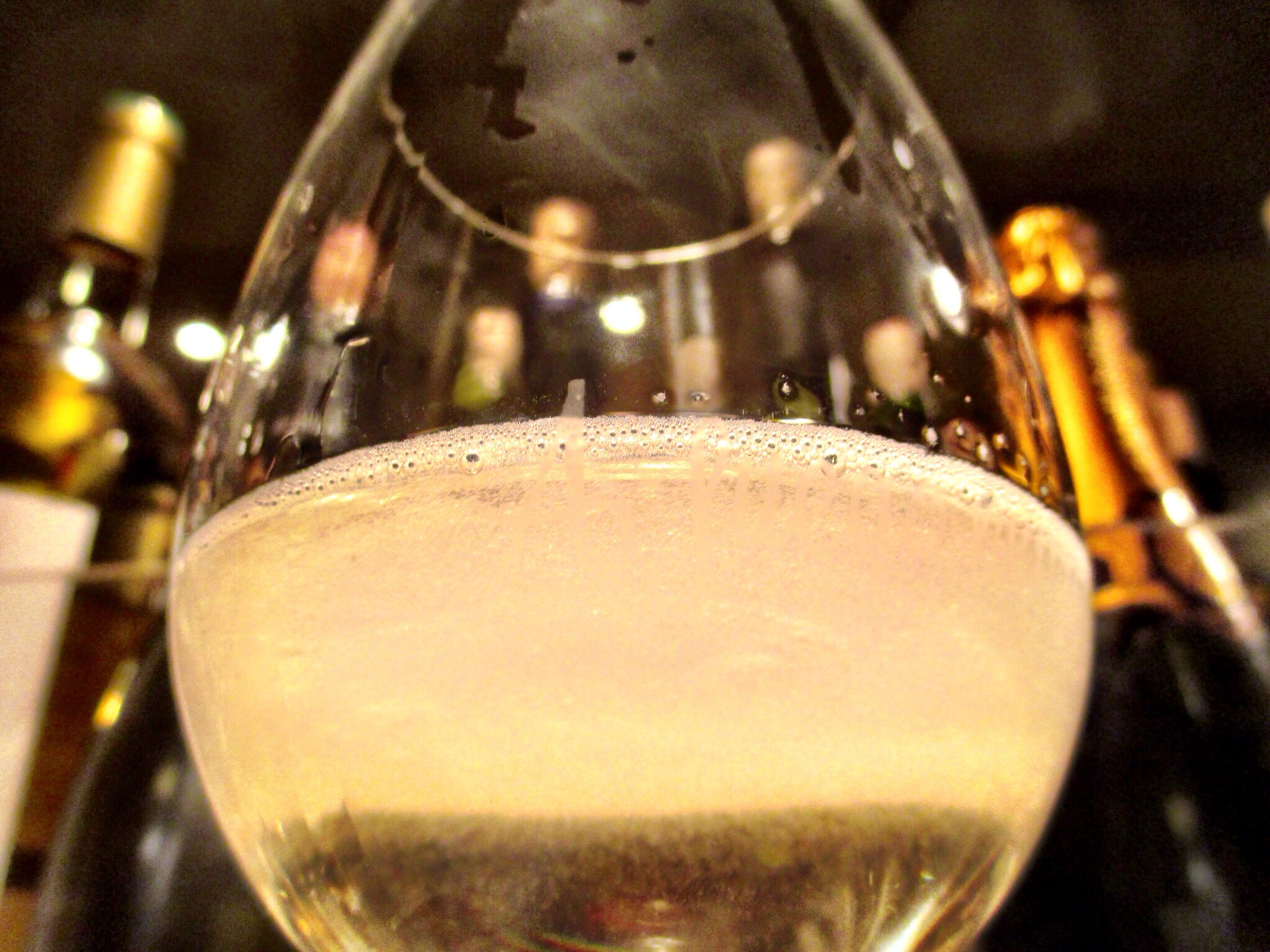 San Sebastián's signature cider is poured from high overhead to aerate it, giving it a living, effervescent bite