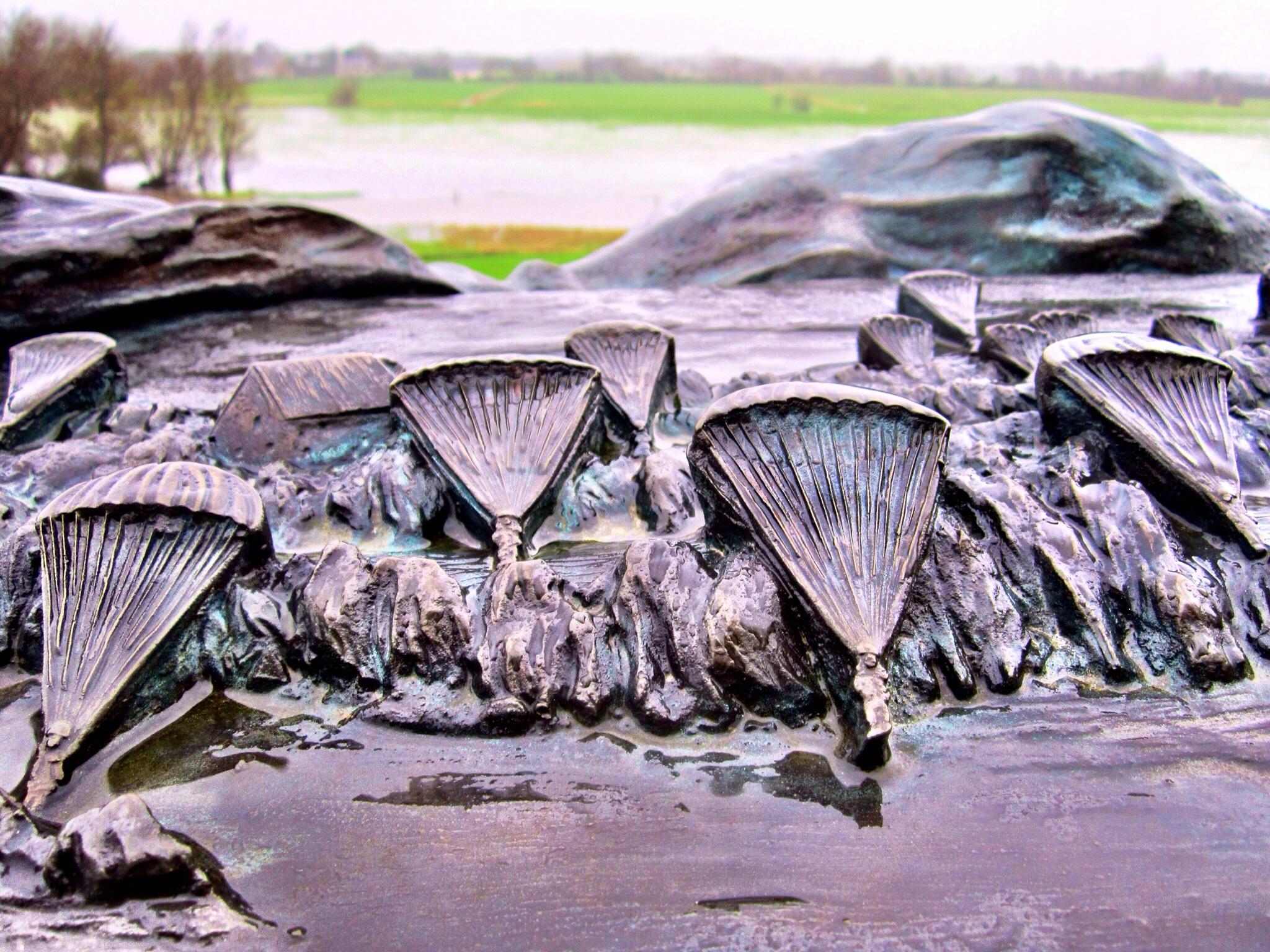 Paratrooper memorial at the Merderet River