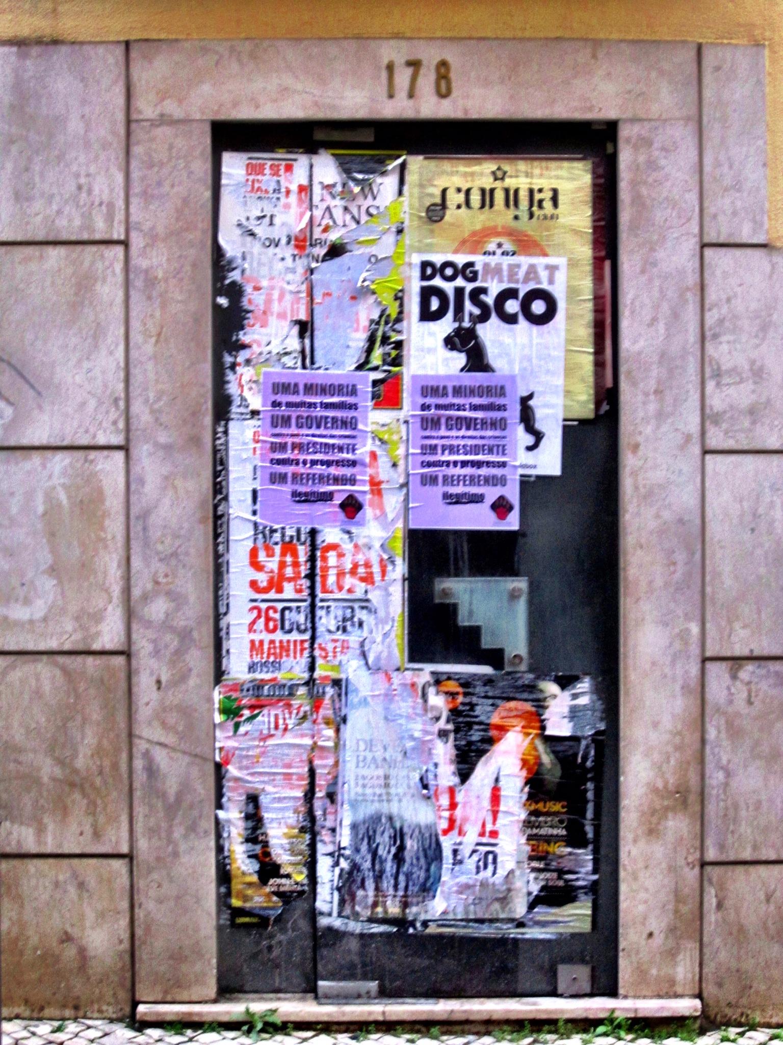 Lisbon Layered Posters