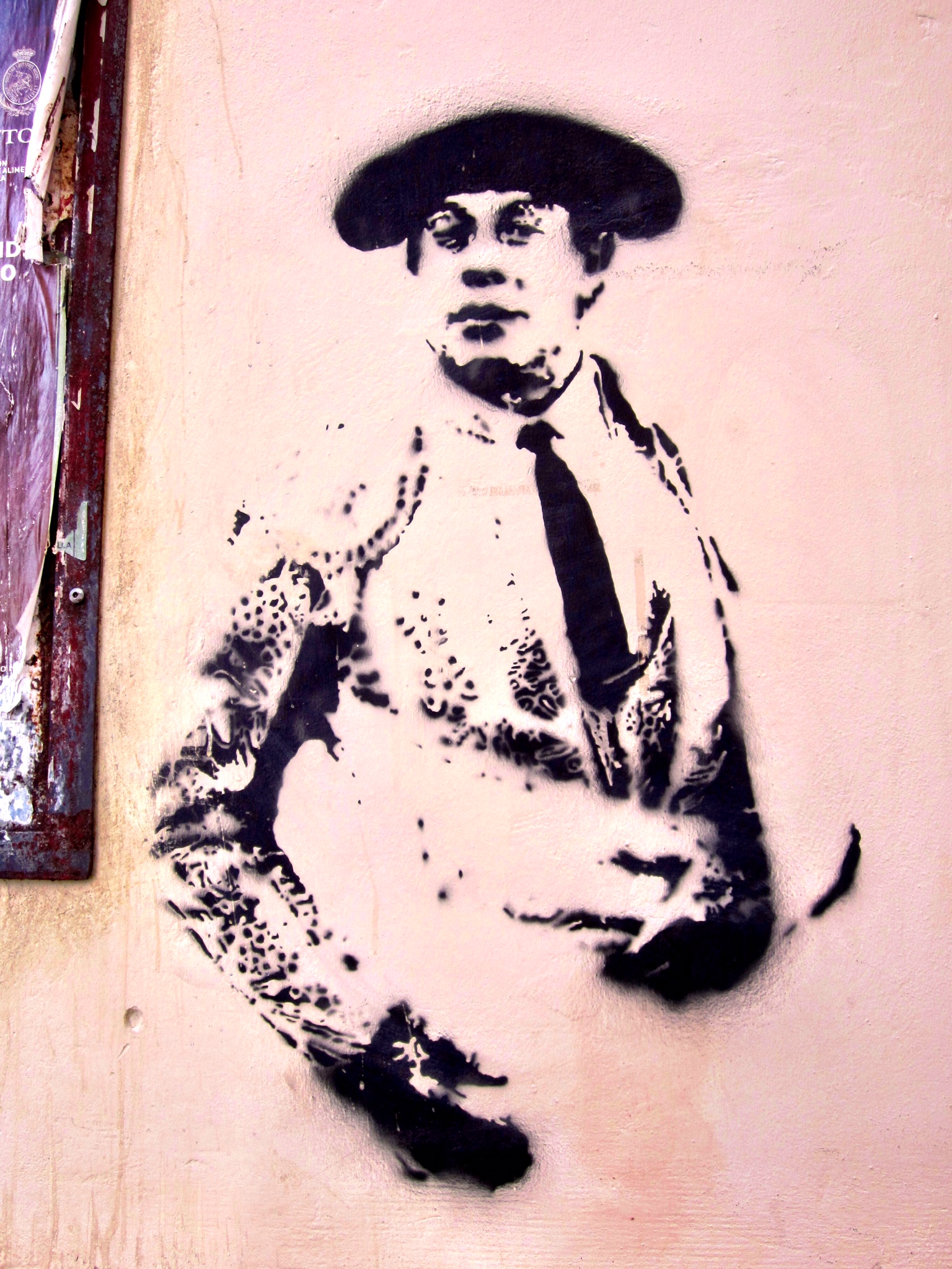 Torero Stencil Seville