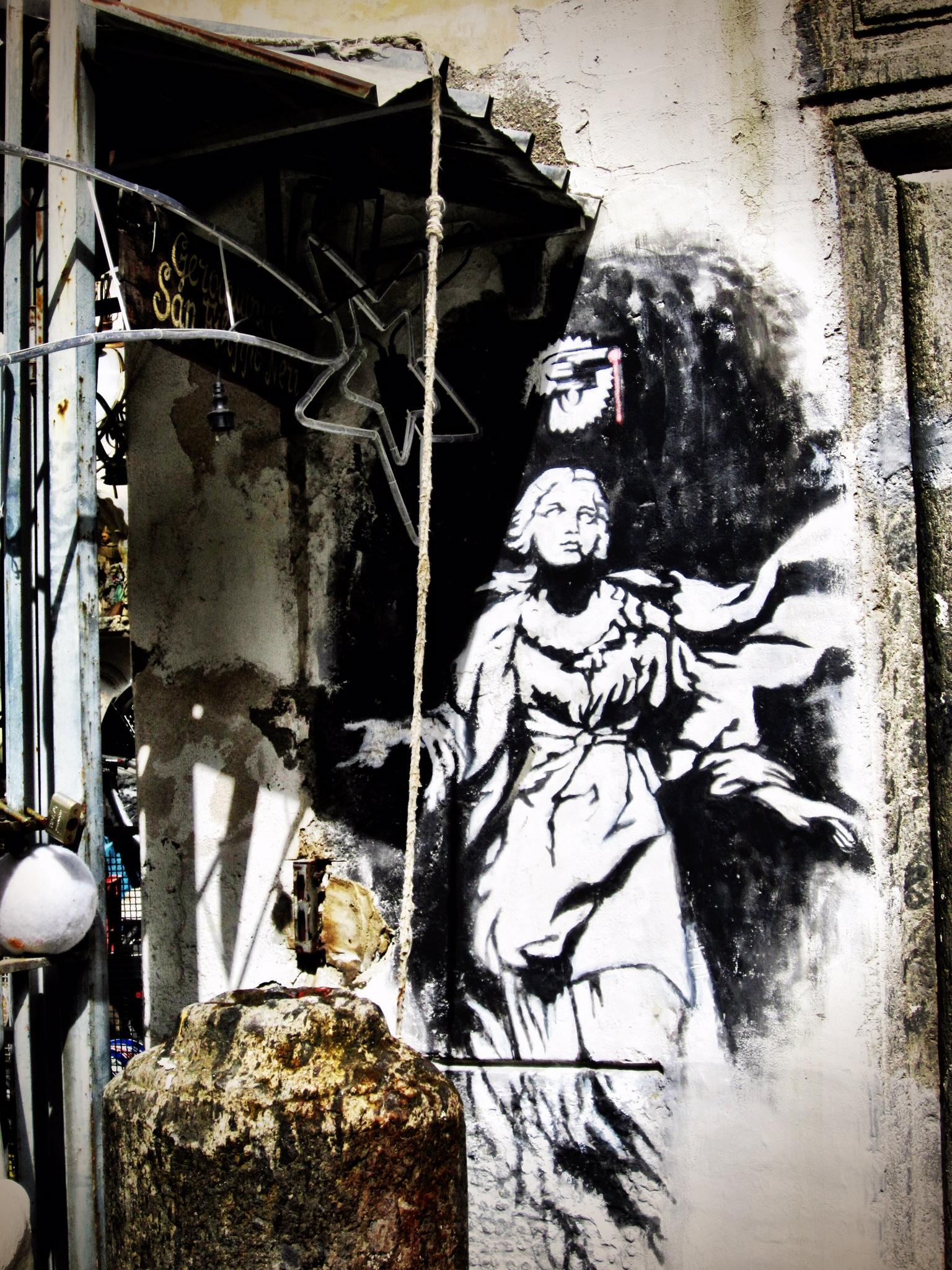BANKSY Naples Street Art