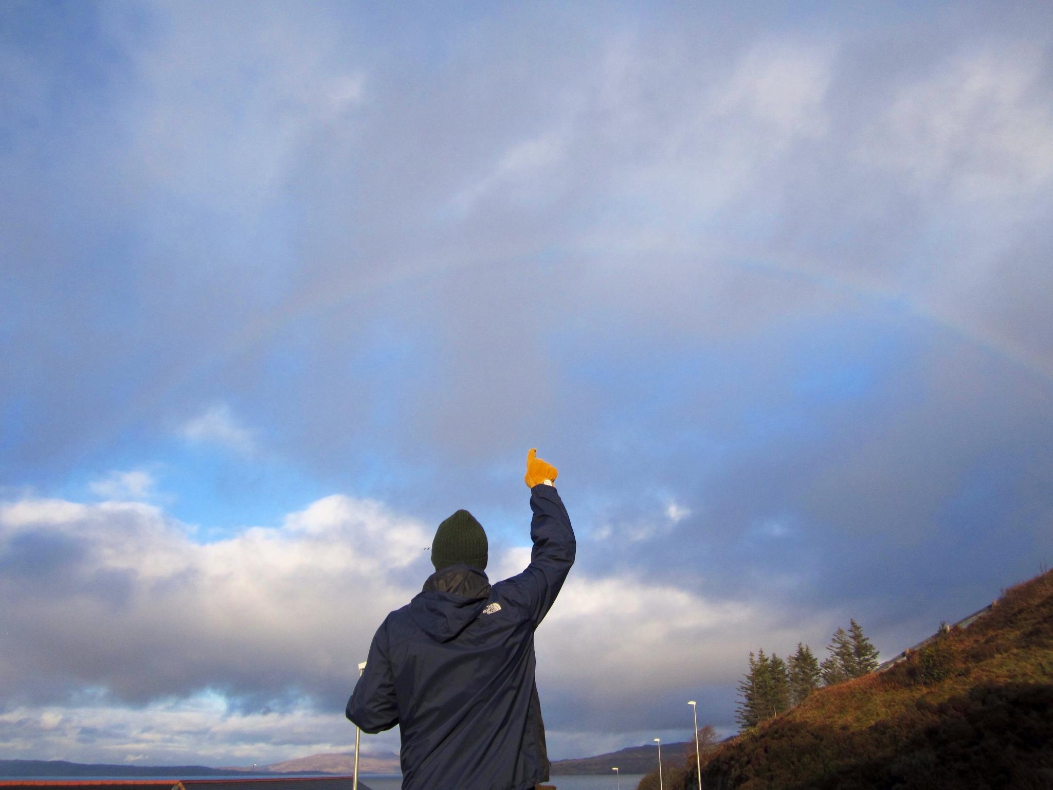 Rainbow Spotting, Mallaig, Scotland