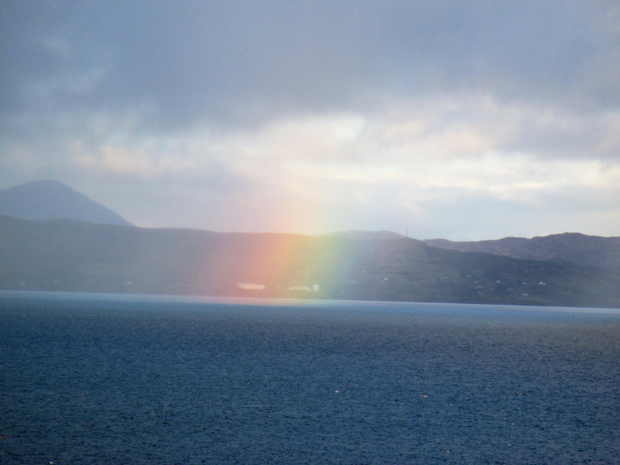 Rainbow, Mallaig, Scotland