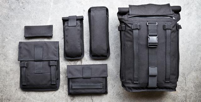 The Mission Workshop Arkiv System modular packs start at $209, not including accessory packs