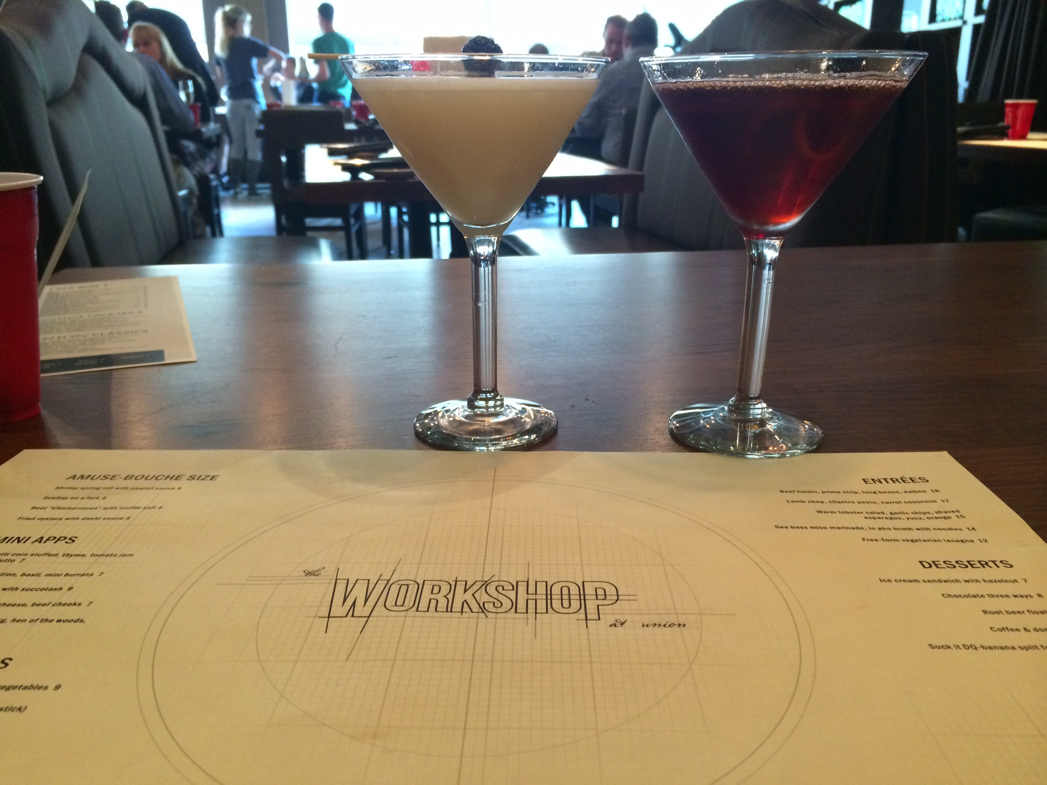 The MsMn and the Smoked Negroni at Workshop Minneapolis