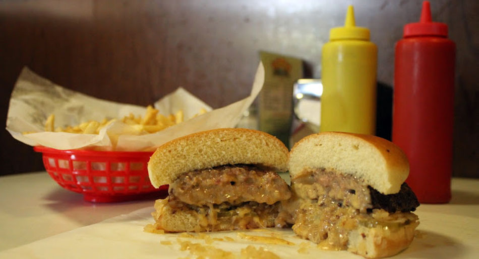 """The """"original"""" Jucy Lucy"""