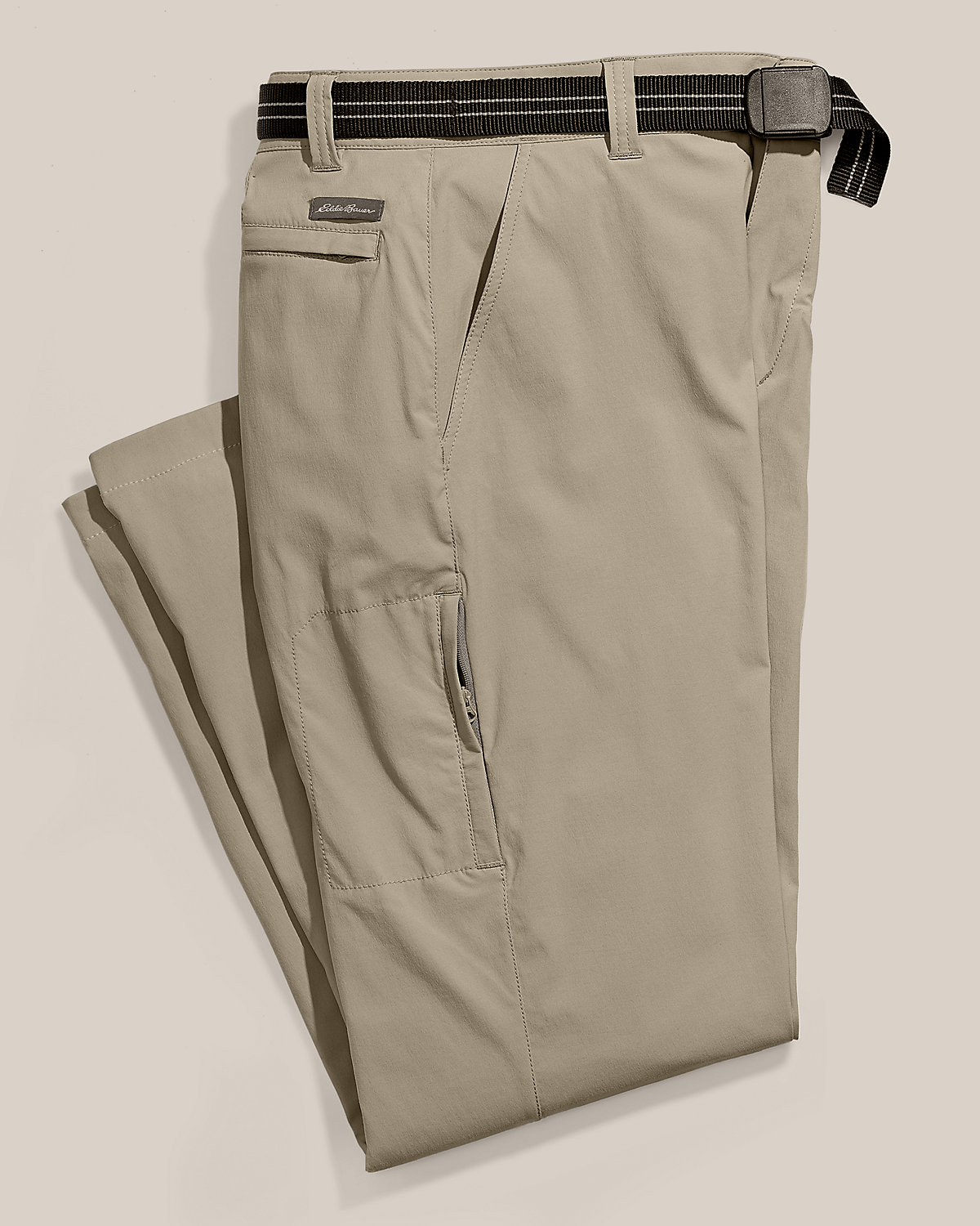Horizon Pants from Eddie Bauer are perfect for long term travel.