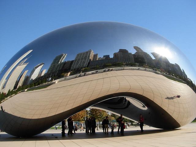 Cloud Gate, or as we call it, The Bean.