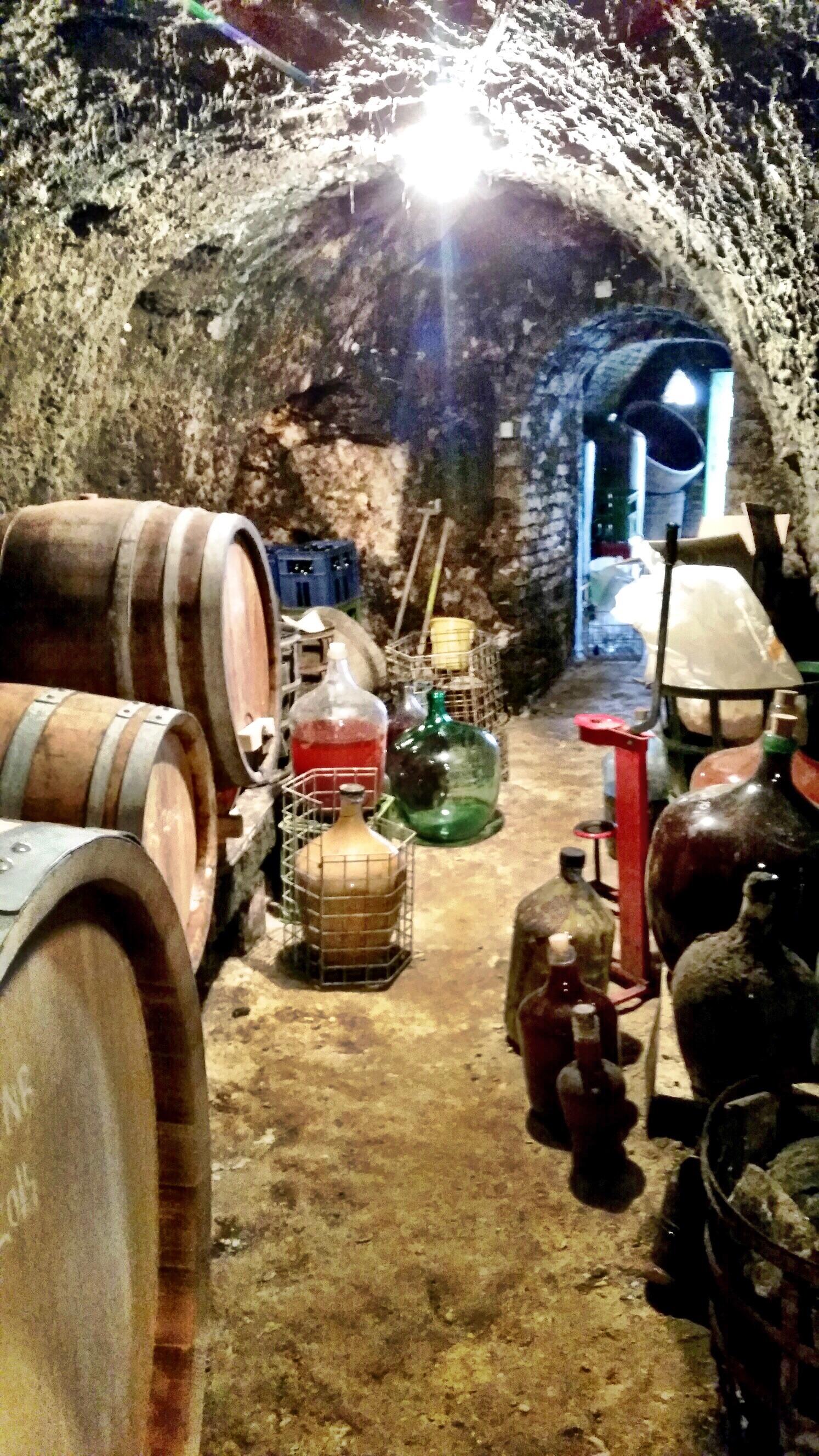 The cellar where pre-bottled magic lives