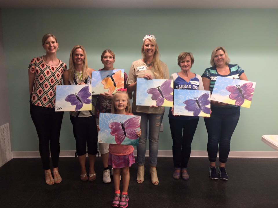 Susan hosted her 40th birthday party with Painted Clover