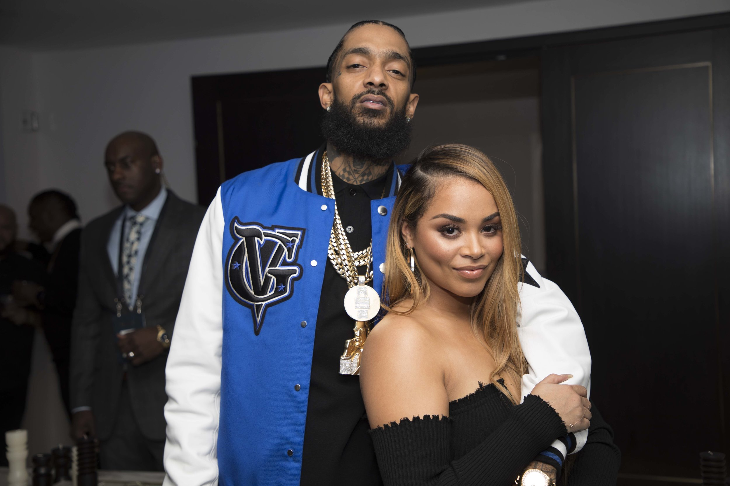 Nispey Hussle x Lauren London