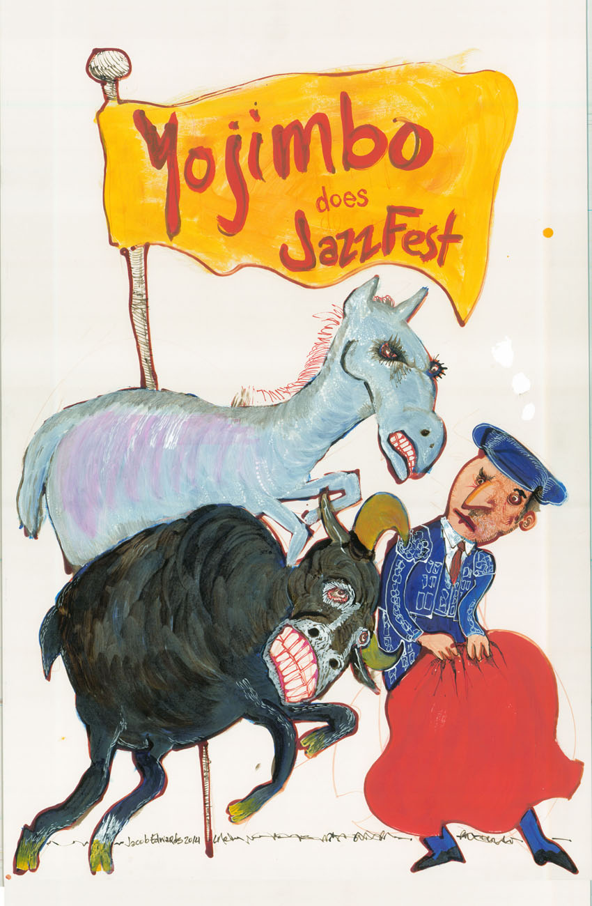 Jazzfest Flyer for Yojimbo