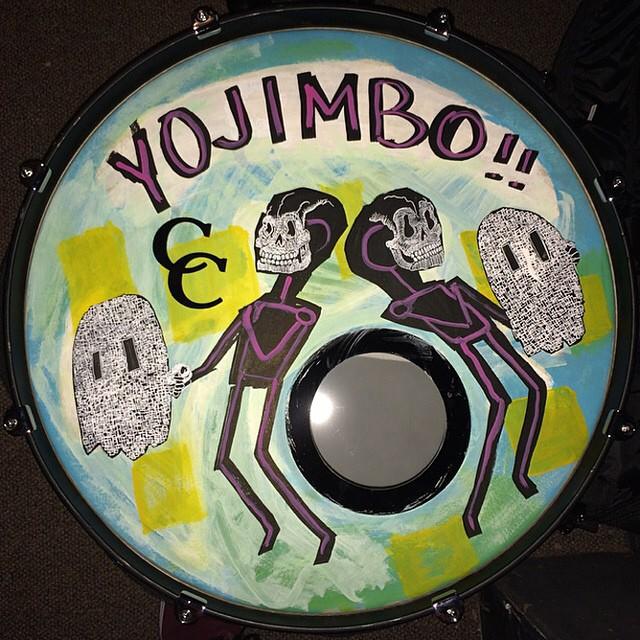 Yojimbo Drumhead