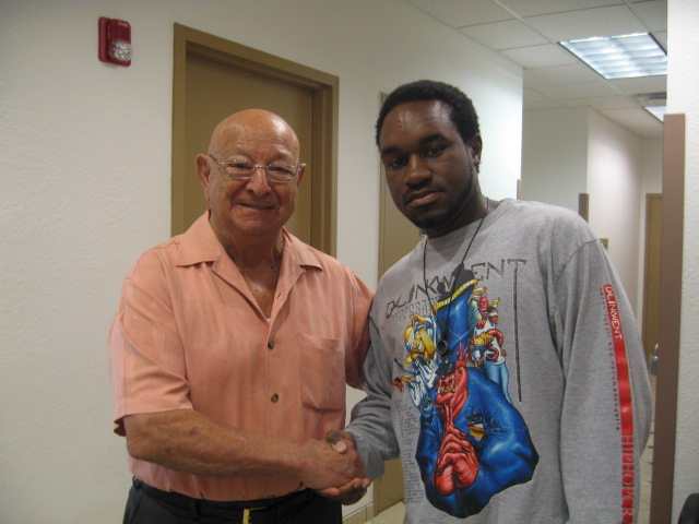Tarik and Angelo Dundee