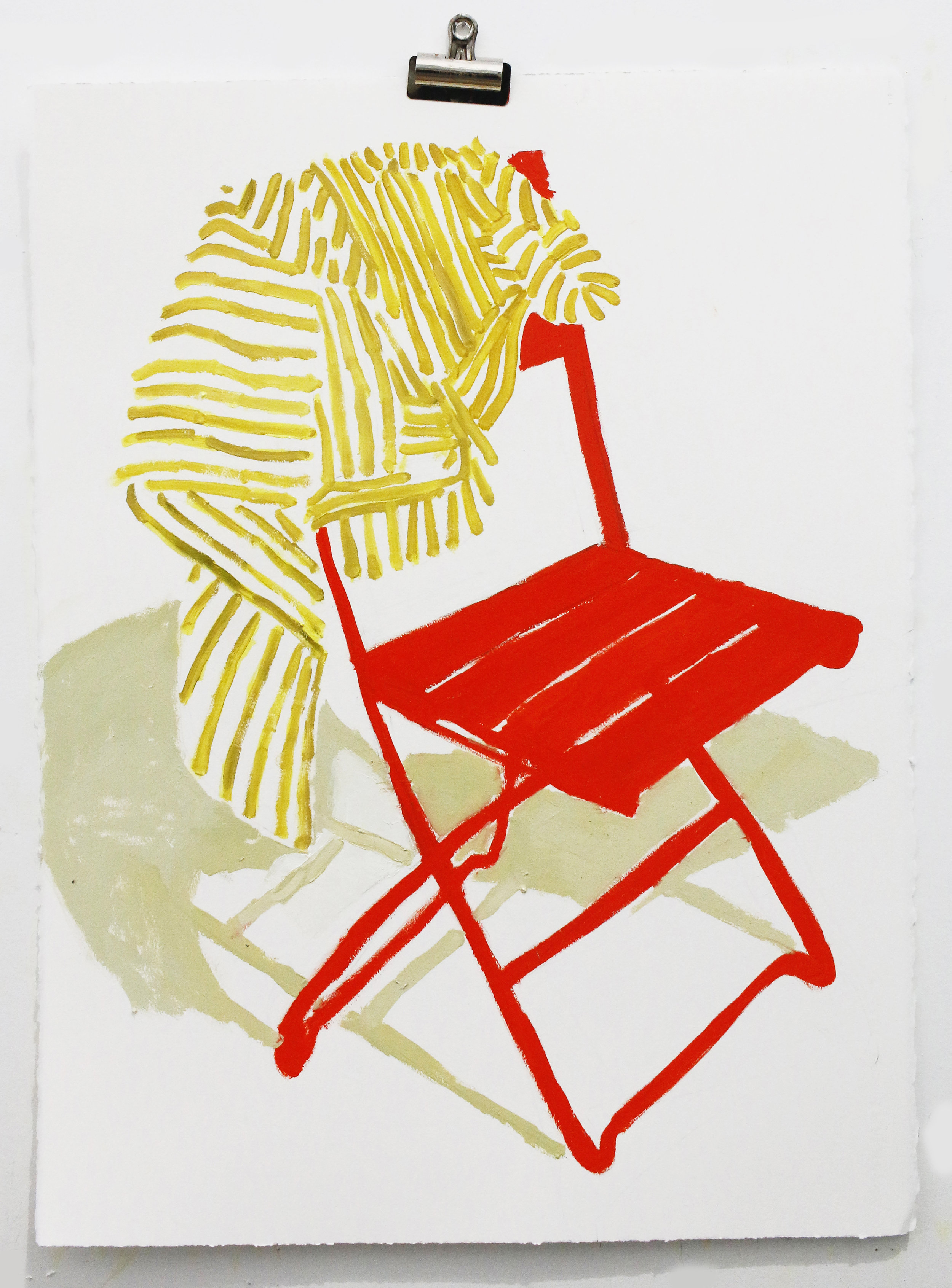 Striped Shirt, Red Chair.jpg
