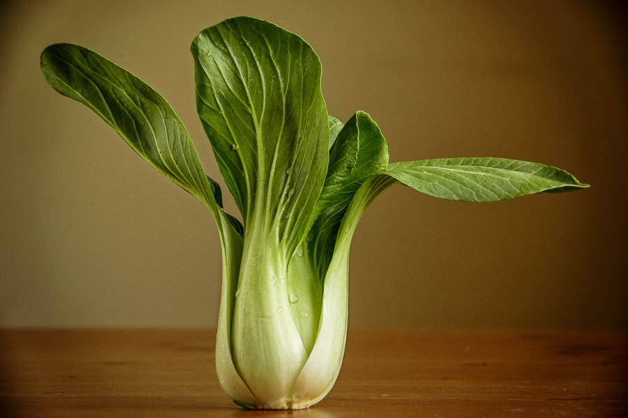 This baby bok choy was one of my first food weekly self-assignments.