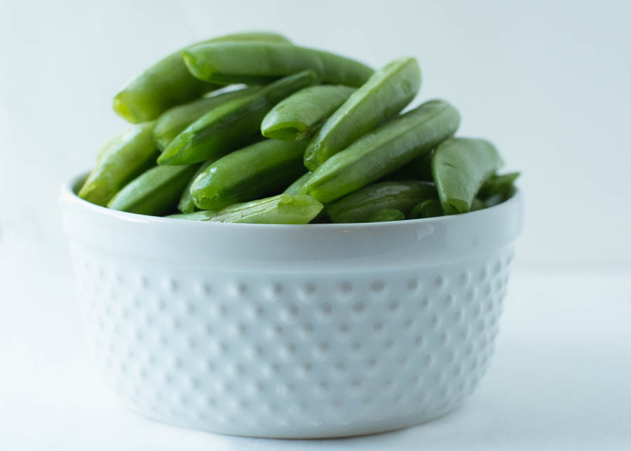 There are times when I also will do a quick photo session with some ingredients that I'm preparing for that night's dinner. Snap peas have been a big favorite around my house this year.