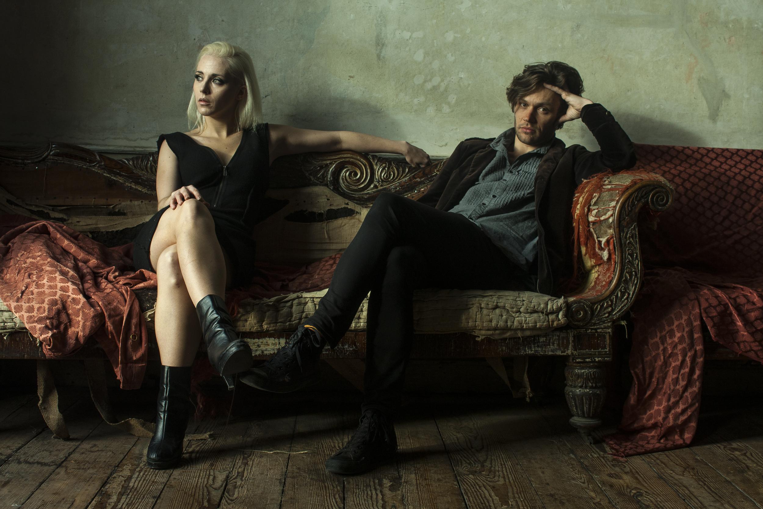 Megan Riordan & James Walmsley of Black Wing Bird