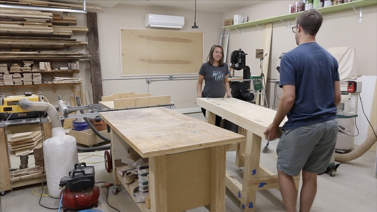 moving workbench into place.jpeg