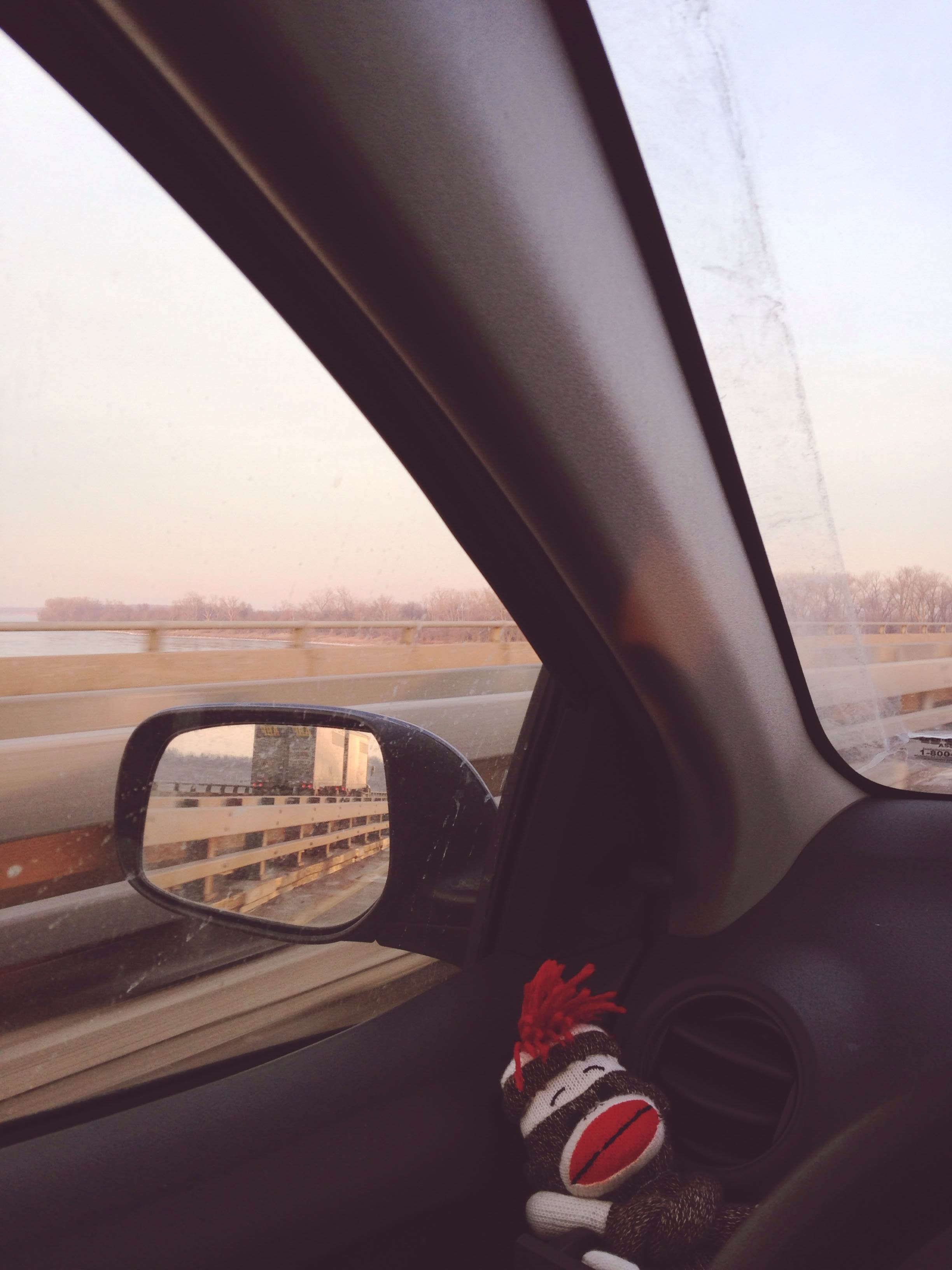 Wednesday around 5:30 I me and road companion crossed the bridge to Illinois to start the journey.