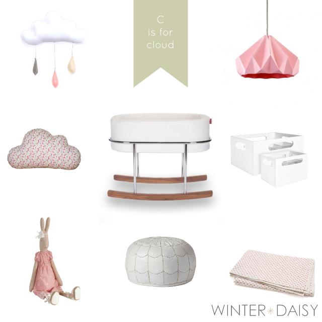 WINTER*DAISY interiors for children baby girl nursery