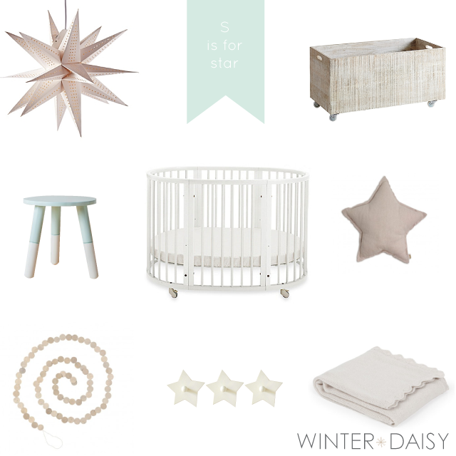 WINTER*DAISY interiors for children-S is for star
