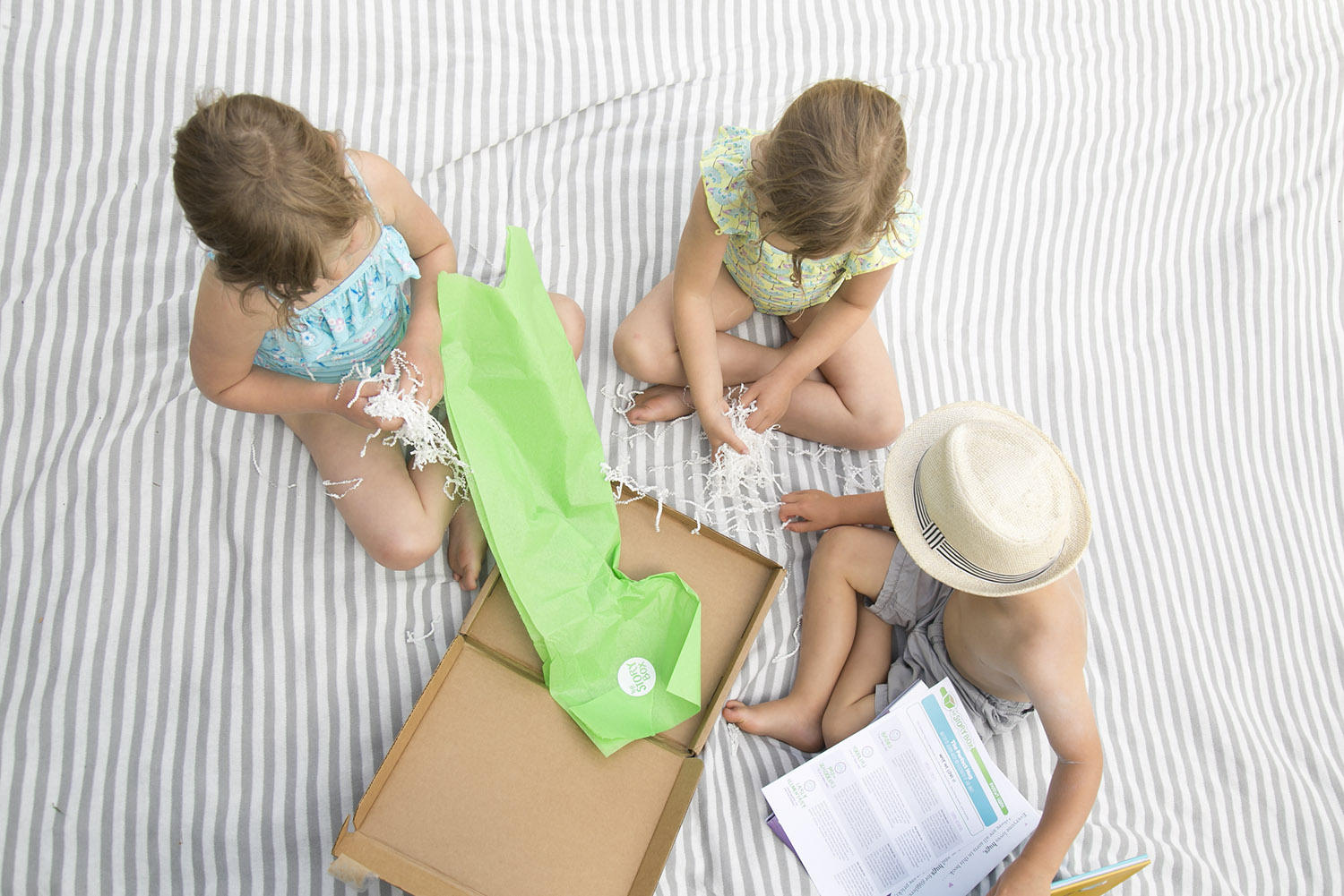 opening up the story box with kids