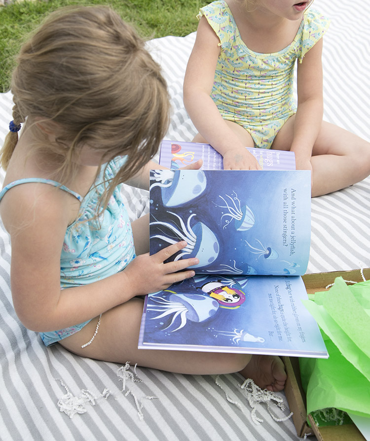 girls reading books