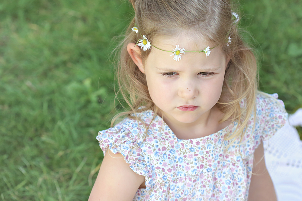 daisy chain headband