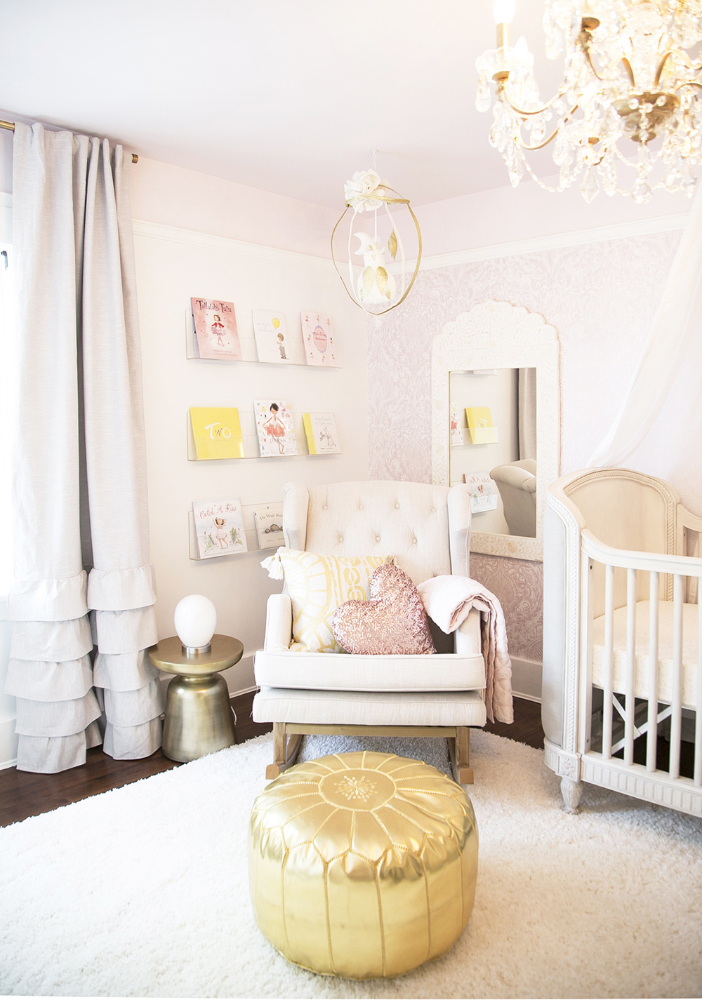 Reading corner in Vancouver nursery design