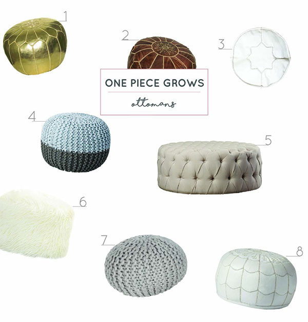 ottomans for kids rooms