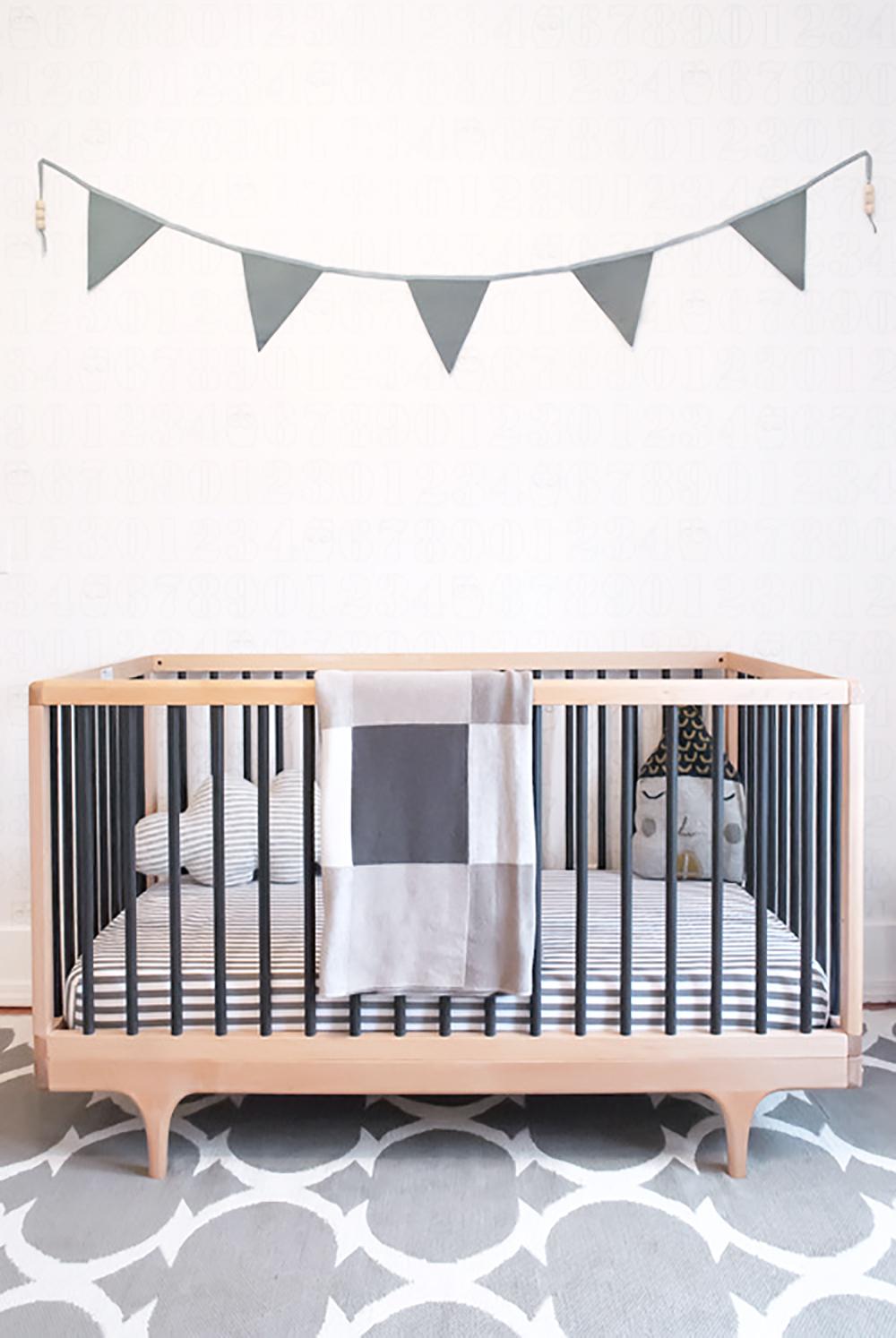 Caravan Crib in interior designer Melissa Barling's children's room