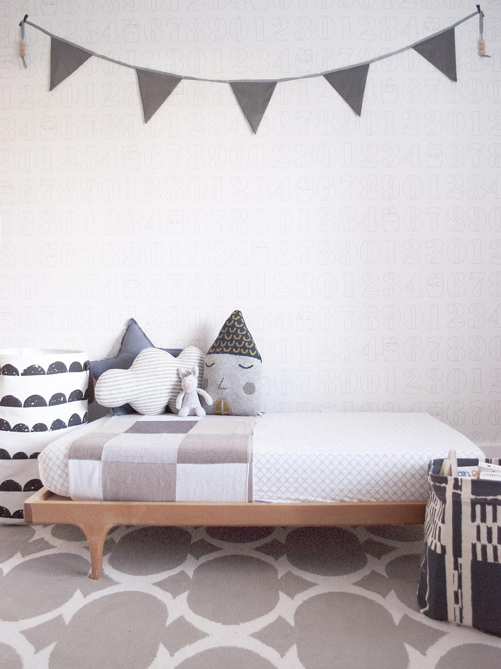 Kalon Studios toddler bed in Vancouver Interior Designer Melissa Barling's son Xavier's room