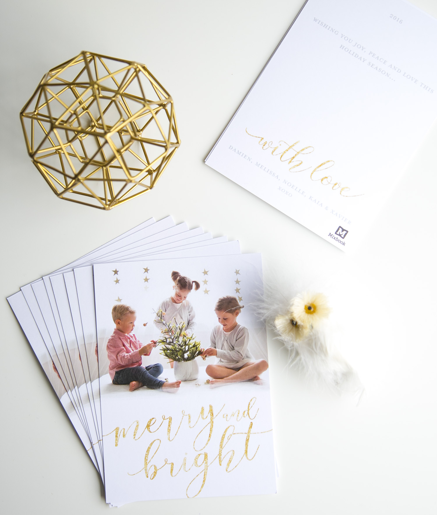 WINTER DAISY 2016 Christmas Cards with Mixbook