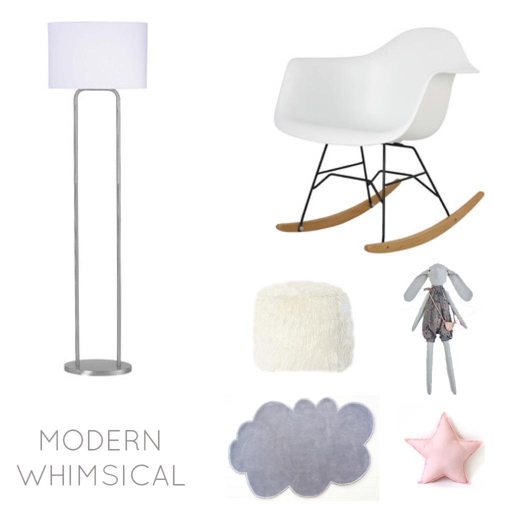 Modern Whimsical Children's Room Design