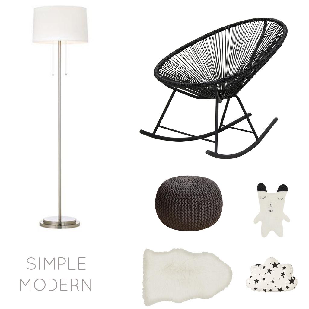 Simple Modern Kids Interior Design