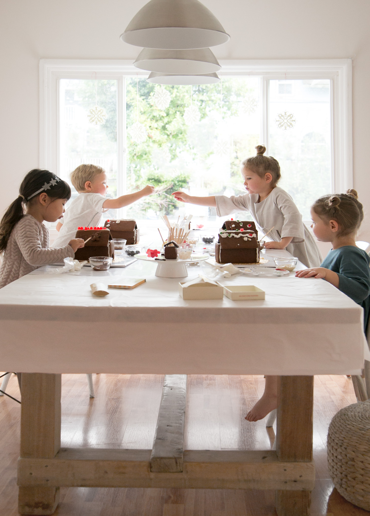 gingerbread house party for kids