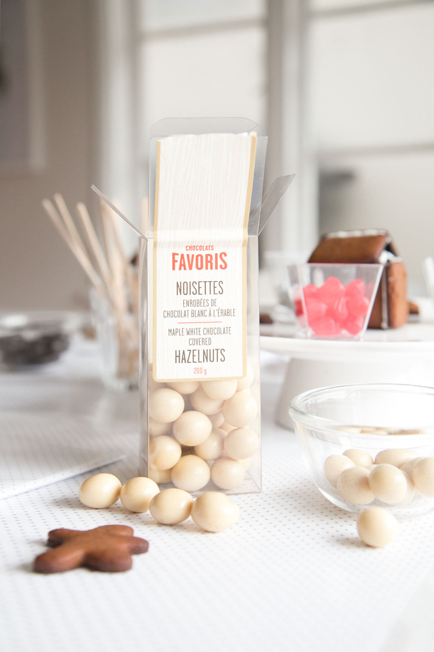 maple white chocolate hazelnuts from chocolats favoris