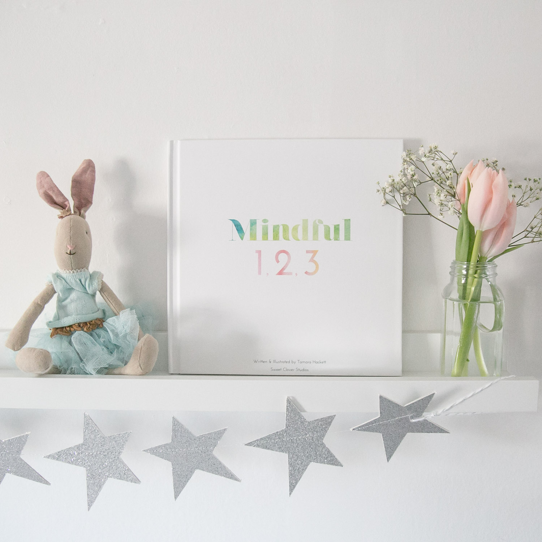 Mindful 1,2,3 book on shelf